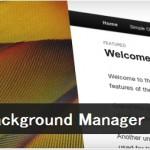 ブログ背景に簡単に画像表示出来るプラグインBackground Manager